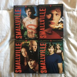 Smallville DVDs (Seasons 1-4) for Sale in Redwood City, CA