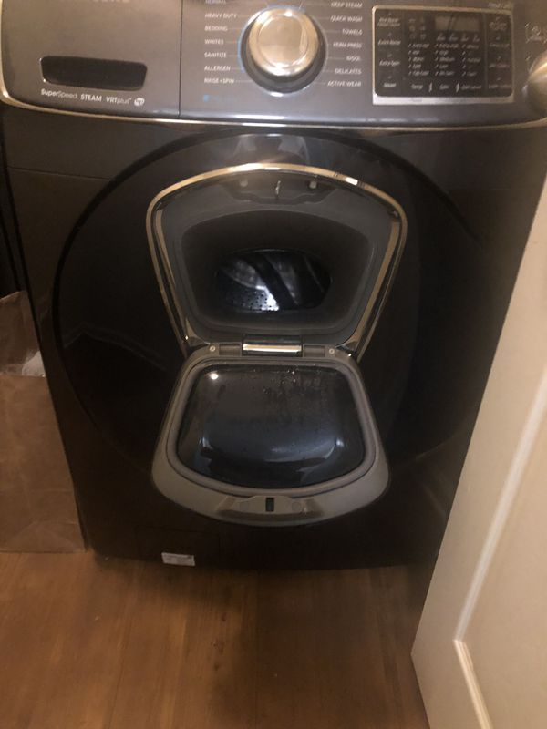 Samsung gas washer and dryer