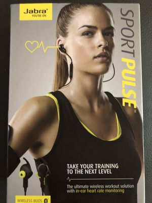 Used, Jabra Sport Pulse headphones for Sale for sale  Tampa, FL