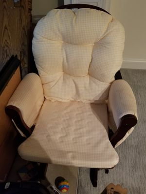 Rocking Chair with ottoman for Sale in Woodbridge, VA