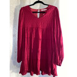 Burgundy Tunic Dress for Sale in Arlington,  VA