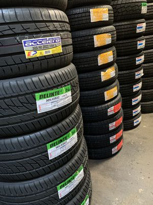 Brand new tire sets on sale‼️ All major brands and sizes available ✅ for Sale in San Leandro, CA