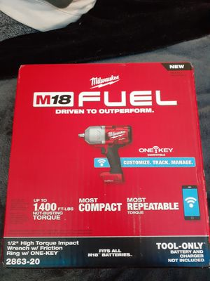 Milwaukee M18 High Torque impact wrench for Sale in Beaverton, OR