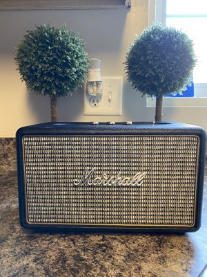Marshall - Stanmore II Bluetooth Speaker- Black for Sale in Arlington, VA