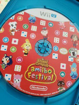 Amiibo Festival for Nintendo Wii U for Sale in Dallas, TX
