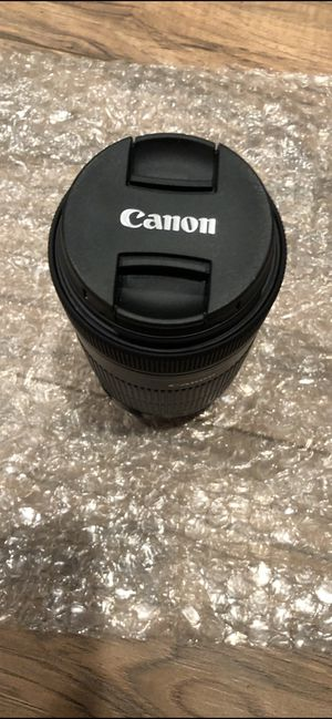 Canon 55-250mm for Sale in El Cerrito, CA