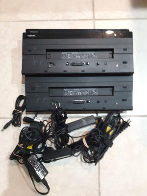 PA5116U-1PRP 19v Toshiba Laptop Port Replicators Lot of 5 for Sale in Tampa, FL