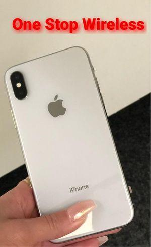 iPhone x unlocked for Sale in Seattle, WA