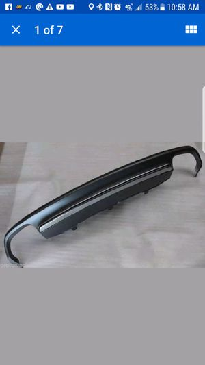Designed for S-Line / S7 rear bumpers Material: High quality ABS (plastic ) Genuine brand new original Audi part for Sale in Chicago, IL