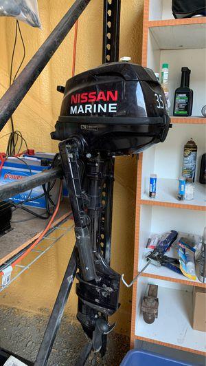 2011 Nissan Marine 3.5 low emission long shaft motor for Sale in Templeton, CA