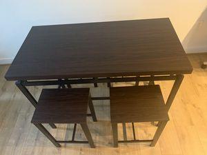 Wayfair Dark Chocolate Brown Wooden Dining room set for Sale in Alexandria, VA