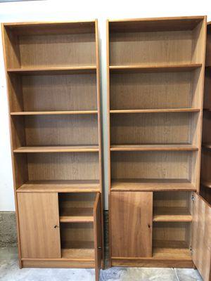 Danish Modern bookshelves for Sale in Pasadena, CA