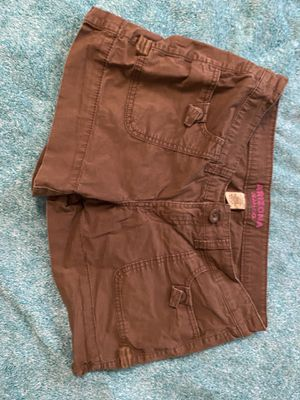 Arizona Jean Co Brown Denim Shorts - Women's Size 7 for Sale in Ithaca, NY
