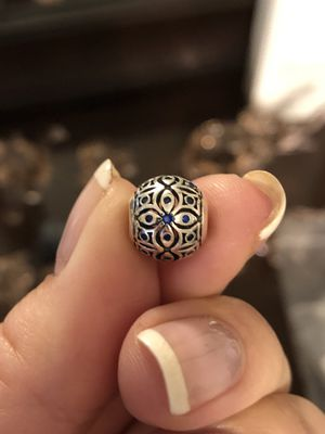 Brand New Sterling Silver 925 Charm with Blue CZ for Sale in Whittier, CA