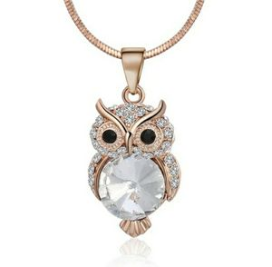 rose gold owl necklace for Sale in Rockingham, NC