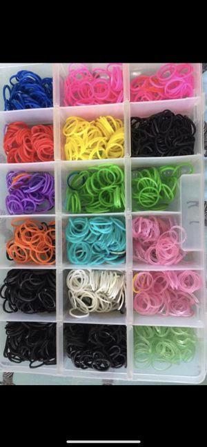 Little rubber bands to make bracelets or for hair for Sale in Spring Hill, FL