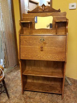 Antique Larkin Late 1800 Oak Writing Desk for Sale in East Wenatchee, WA