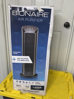 Bionaire Germ-reducing UV Power HEPA-type Air Purifier with Permanent Filter (BAP536UV-U) for Sale in Orlando,  FL