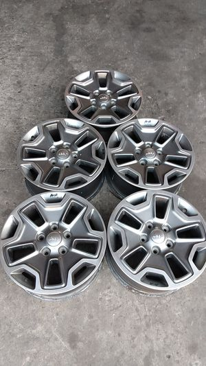 2016 JEEP RUBICON WHEELS for Sale in San Diego, CA