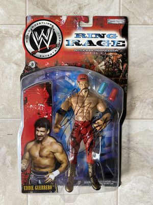 WWE/WWF SIGNED RING RAGE RUTHLESS AGGRESSION Eddie Guerrero Wrestling Action Figure for Sale in Converse, TX