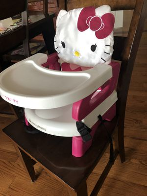 Hello kitty toddler portable high chair for Sale in Schaumburg, IL