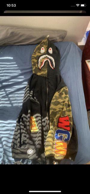 Black bape hoodie for Sale in Germantown, MD