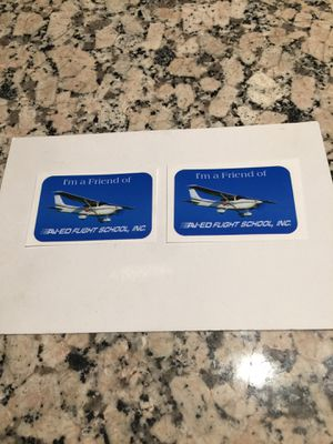 Flight school Cessna Aircraft stickers for Sale in Los Angeles, CA