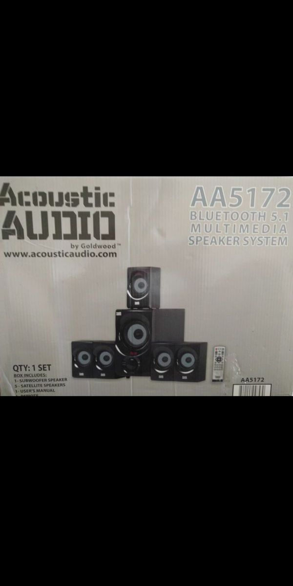 5.1 Surround Audio System with Bluetooth