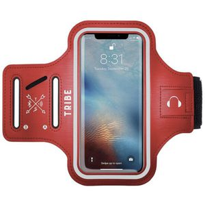 Water Resistant Cell Phone Armband Case for iPhone Xs Max, XR, 8 Plus, 7 Plus, 6 Plus, 6S Plus, Samsung Galaxy S9 Plus, S8 Plus, A8 Plus, Note 4/5/8/ for Sale in Montclair, CA