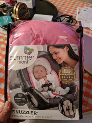 Summer infant Snuzzler for car seat, swings and strollers for Sale in Henderson, NV