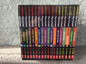 Goosebumps horrorland book set for Sale in Anaheim, CA