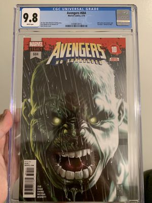 Avengers 684 First Appearance Immortal Hulk for Sale in Anaheim, CA