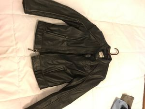 Harley Davidson motorcycle jacket women's for Sale in Kissimmee, FL