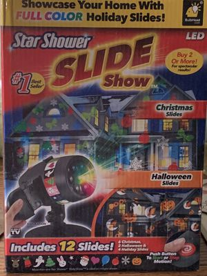 Star shower slide show BRAND NEW $25 for Sale in Garden Grove, CA
