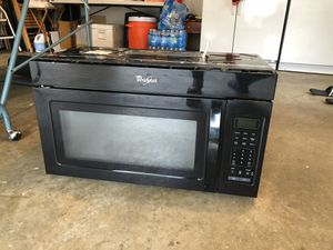 Whirlpool Microwave over the range- for Sale in Germantown, MD