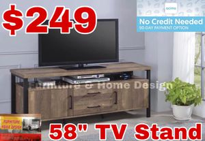 "58"" TV Stand for Sale in Visalia, CA"