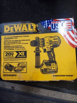 Dewalt 1/2 hammer drill kit for Sale in Newport News, VA