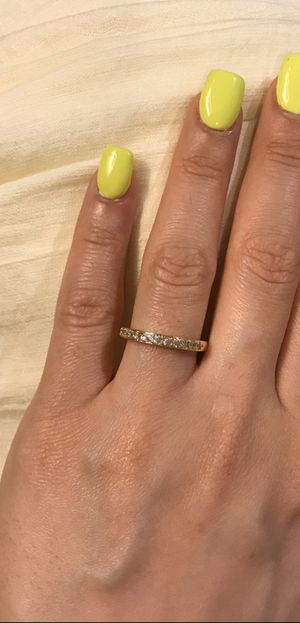 18K Yellow Gold plated Ring— Code SUP401 for Sale in Miami, FL