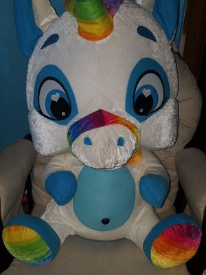 Large Unicorn Stuffed Animal for Sale in Swissvale, PA