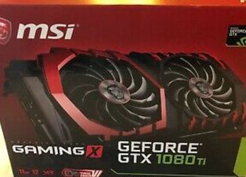 MSI Geforce GTX 1080 TI GAMING X 11GB for Sale in Shelby Charter Township,  MI