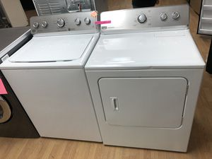 Maytag white washer and dryer set for Sale in Woodbridge, VA