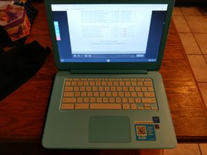 HP chrome laptop great condition for Sale in Glendale, AZ