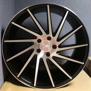 """Brand New 20"""" ICH Black Machine Wheels for Sale in Miami, FL"""