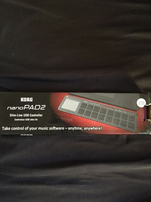 Korg Nano Pad 2- 40$ Nanopad2 USB Drum Controller for Sale in Fresno, CA