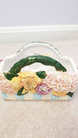 Lady Jayne Ltd - Handcrafted Ceramic Napkin holder for Sale in Sterling, VA