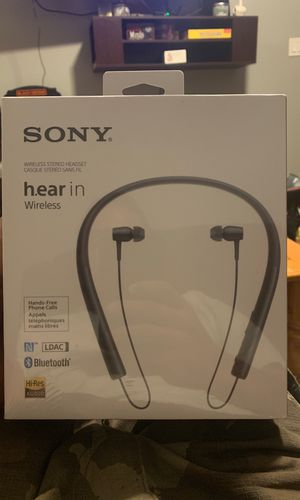 Sony H.hear in headphone brand new in the box not open still wrapped in plastic or best offer for Sale in Staten Island, NY