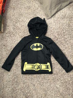 Boys Batman Hoodie Size 4 for Sale in Tea, SD