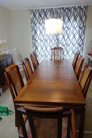 Dining Chairs —beautiful solid wood for Sale in Vienna, VA