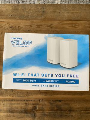 Linksys Velop Dual Band Mesh WiFi (2-pack) for Sale in Denver, CO