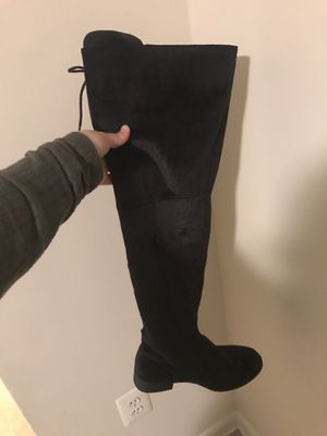Thigh high boots in wide for Sale in Reston, VA